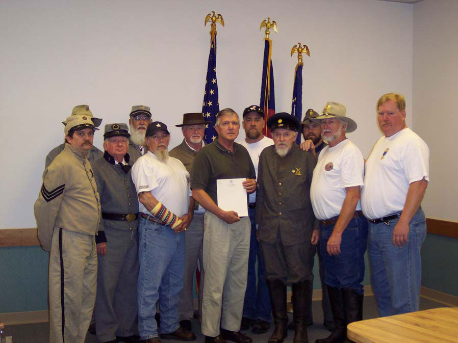 Confederate Heritage Month Proclamation for Trenton